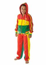 CHILDRENS LION OF JUDAH Jamaica RASTA HOODIE TRACKSUIT - 3-12 Years FREE UK P&P!