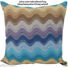 MISSONI HOME PILLOW COVER ECO CONSCIOUS DYE MODEL MATHEW 100% PERCALE COTTON  c