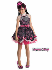 Girl's Draculaura Sweet 1600 Monster High Deluxe Halloween Fancy Dress Costume