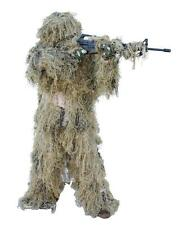 New Full Body Ghillie Gillie Suit Desert Grassland Camo Mens M/L or XL/XXL 5Pc