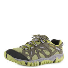 MENS MERRELL ALL OUT BLAZE AERO SPORT BEECH GREEN HIKING TRAINERS SHOES SIZE