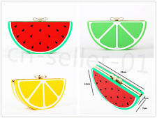 Women's fruit Acrylic Clutch bag Evening Bag Purse Handbag Shoulder chain party