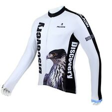 Bike Sportwear Cycling Clothing Bicycle Long Sleeve Jersey Top Discovery Eagle