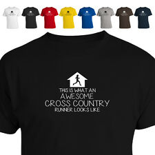 This is What An Awesome Cross Country XC Runner F Looks Like Gift T Shirt 011