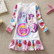 NWT My Little Pony Holiday Girls Party Dress Top T-Shirt Clothing 3 4 5 6 7 8