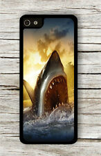 BIG WHITE SHARK ATTACK CASE FOR iPHONE 4 5 5C 6 -c3g8