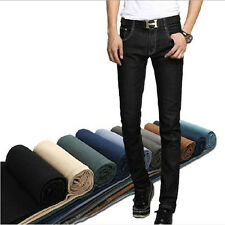 Classic 10 Color Trend Casual Jeans Men's Trousers Classic Slim Fit Feet Pants