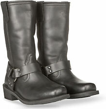 Motorcycle Highway 21 Spark Harness Boot Full Leather Mens RIDING BOOTS 7-14 NEW