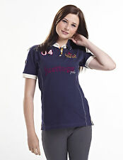 NEW for 2015 MIZZ Junior Just Togs BENVILLE Polo Shirt Riding Stable
