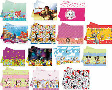 PLASTIC TABLECOVER - LICENSED CHARACTER DESIGNS Range (Birthday Party){SetD}