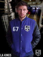 LA Kings Majestic NHL Series Letterman Jacket over 50% off the RRP