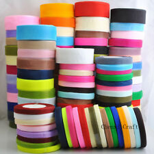 """50Yards Organza Ribbon Mix Color/Size From 3/8"""" to 2"""" Craft Wedding Decoration"""