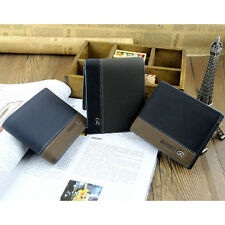 New Fashion Mens Leather Bifold ID Money Holder Purse Wallet Clutch Handbag LI