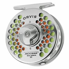 Orvis Access Mid Arbor Fly Fishing Reel w/ 50% Off Fly Line & Backing