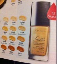 avon ideal flawless invisible coverage foundation ~various shades ~30mls bnib