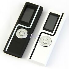 USB Flash 8GB MP3 Music Player LCD Screen Voice Recorder With FM Radio Earphone