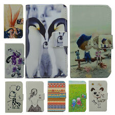 Wallet Card cute leather cartoon cute case Cover For SAMSUNG Smartphones