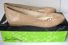 NIB def Sam Edelman Noah Ballet Flat Leather Slip On Shoe Nude Womens Sz 7.5 8