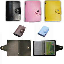 Card Holder Credit Card Wallet Holder Five Colors Card Package For 24 Cards
