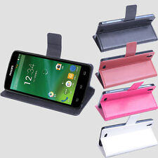 New For 5inch Philips I908 Smartphone Folio Stand Leather Case Cover Skin