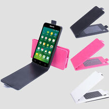 For 5inch Philips I908 3G Smartphone Flip Shell Cover Leather Case Skin Hot