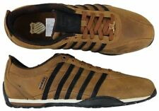 K SWISS MENS TRAINERS SHOES ARVEE 1.5 LOW LACE UP LEATHER UK 7.5 to 9 BROWN