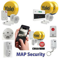 YALE Easy Fit Wireless Alarm Home Property Security System - UK STOCK SHIP DAILY