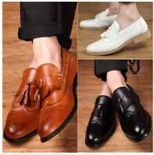 HOT FASHION Men's Retro tassel Brogues British Style loafer Dress shoes 4 Color