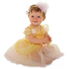 BeLLe~INFANT~Costume~DRESS+HEADBAND~baby~Beauty and the Beast~NWT~Disney Store