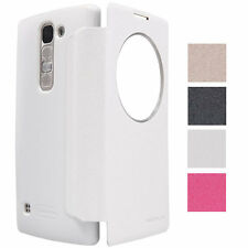 Nillkin Sparkle Smart S View PU Leather Flip Cover Case For LG Spirit H440Y