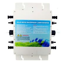 600W 1.2KW waterproof grid tie inverter Wechselrichte MPPT function Photovoltaik