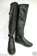 Carrini Women's Knee-High Tall Lace-Up Boots - new w/o box