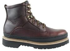 Men's CHINOOK WORKHORSE II Brown Leather Ultra Grip Casual Work Boots NEW