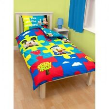 Childrens/Kids Mickey Mouse Clubhouse Reversible Quilt/Duvet Cover Bedding Set