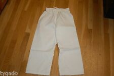 Martial Arts Karate Taekwondo Kenpo  PANTS white Tae Kwon Do 6 oz