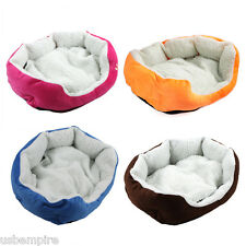 Cute Pet Dog Puppy Cat Soft Flannel Warm Bed House Plush Nest Mat Pad