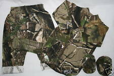 REALTREE APG CAMO CAMOUFLAGE INFANT BABY 4 PC DIAPER SHIRT SET- NWT