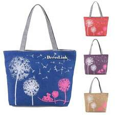 Donne Canvas Satchel Borsa a tracolla Spalla Borsetta Tote Messaggero Handbags