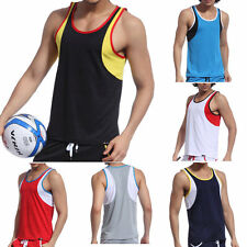 Men's Sleeveless Vest Athletic Sport Singlet A-Shirt Tank Tops Undershirt XL L M