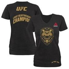 UFC WOMENS JON JONES REEBOK 182 WALKOUT SHIRT - AUTHENTIC - BRAND NEW - NWT