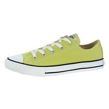 CONVERSE CHUCK TAYLOR ALL STAR OX CHILDRENS SHOES YELLOW 336817C LIGHT YELLOW