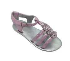 Girls Shoes Grosby Kerry Pink Sparkly Sandals New  Size 9-11 Clearance Sandal