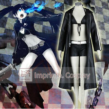 Vocaloid Black Rock Shooter Hatsune Miku Cosplay Costume Full Set FREE P&P