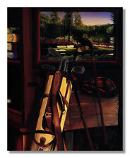 Golf Clubs Bags and Other Golfing Memorabilia #2 Wall