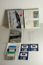 Fighter Duel Pro Commodore Amiga Won't Boot Jaeger Software Vtg Computer  Game
