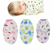 Baby Waddle Blanket Swaddling Wrap Fleece Sleeping Bag 0-4 Months Newborn Gift