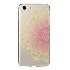 Floral Pattern TPU Case Cover Back For iPhone 6/7 Soft Case Floral Silicone Case