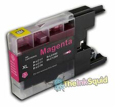 Magenta (Red) LC1220/LC1240/LC1280 Compatible Ink Cartridge for Brother Printers