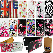 Hot Magnet Flip Holder PU Leather Card Slots Cover Case For Various Phone Models