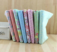 Wholesale 8 PCS Fabric Spring Color Pre-Cut  Cotton Quilt Fabrics for Sewing